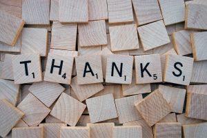 Saying 'thank you' to David Cameron and Nick Clegg – and Ed Miliband?
