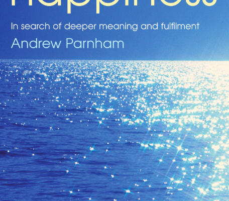 "My new book, ""Lasting Happiness"""