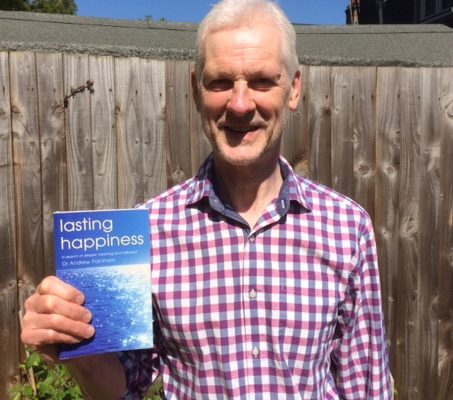"Successful launch event for my new book, ""Lasting Happiness"""